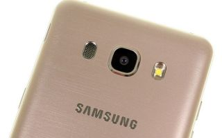 Samsung galaxy j5 (2016): обзор смартфона