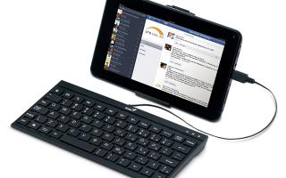 Android клавиатура для планшета: особенности