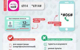 Как зарегистрировать номер сотового телефона