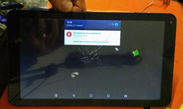 Замена тачскрина на планшете: простая инструкция