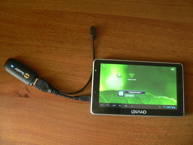 Как к планшету подключить usb модем: простой способ