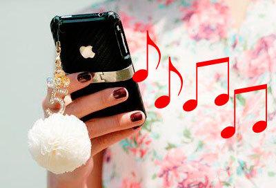 Как в Айфоне 3 поставить музыку на звонок