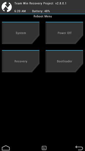 twrp recovery: как использовать