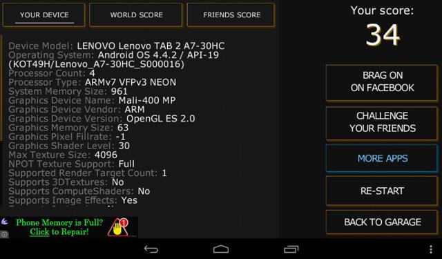 lenovo tab 2 a7-30hc: обзор планшета