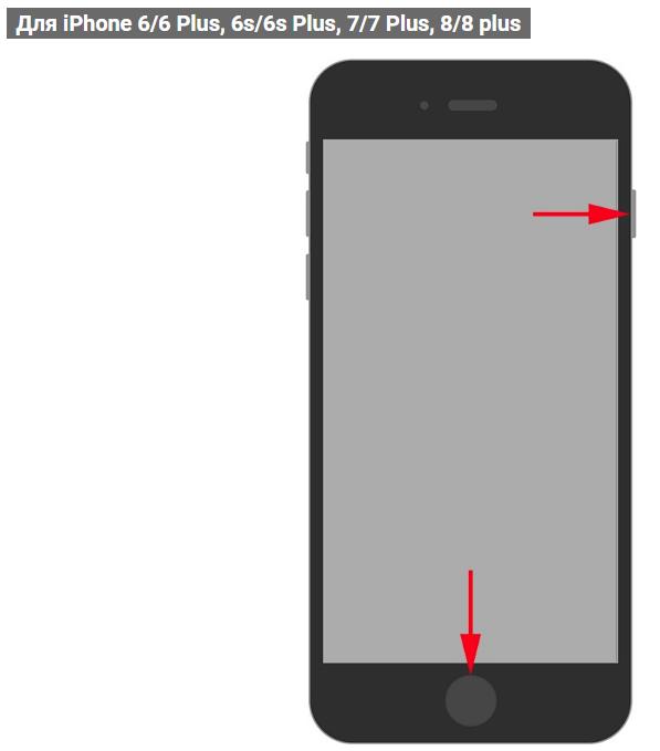 дальнейшем как сфотографировать экран на айфоне под