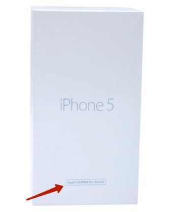 Восстановленный айфон - как отличить от оригинального?