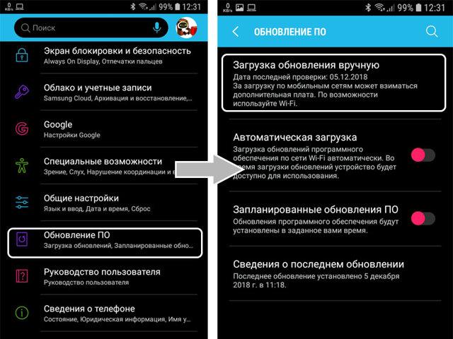 Андроид: как обновлять до свежей версии