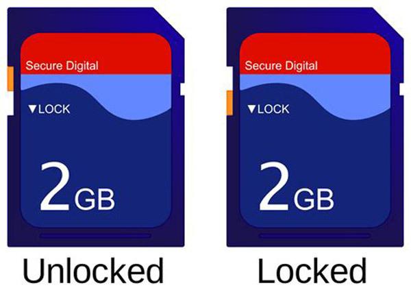 Что делать, если карта памяти на телефоне заблокирована