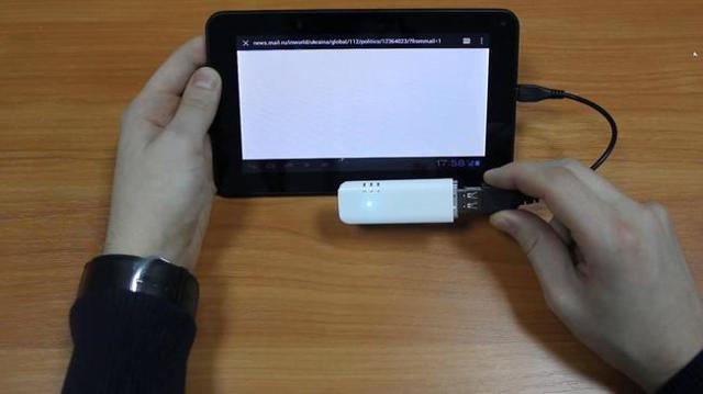 Как 3g модем подключить к планшету
